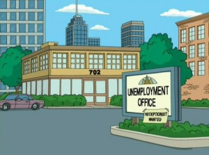 Family Guy Unemployment Office