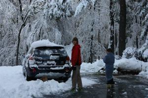 snowfall Oct. 30, 2011